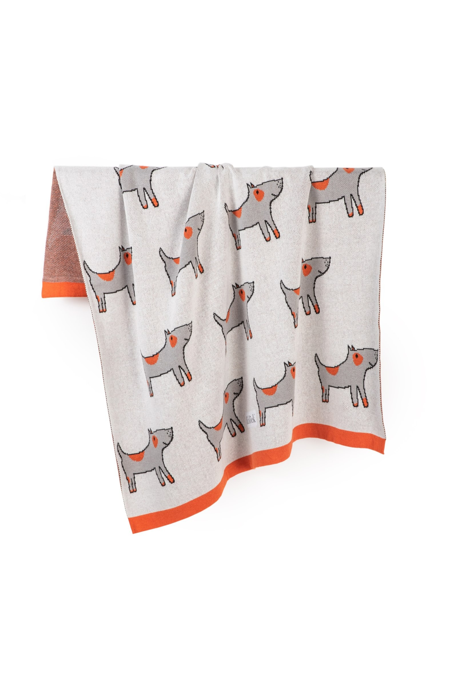 COPERTA SPOTTED DOGS 80x100...